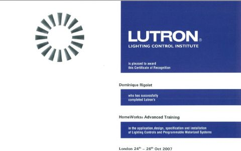HomeWorks Advanced Training LUTRON