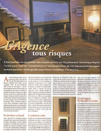 Home cinema in Paris - Audire