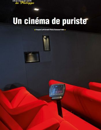 Home cinema in Brussels - Audires